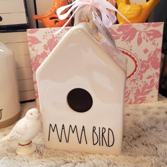 Rae Dunn Momma Bird House